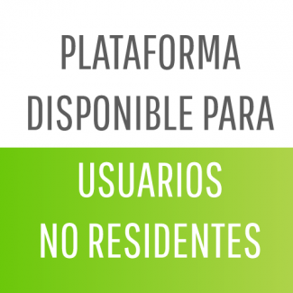 Plataforma disponible para No Residentes